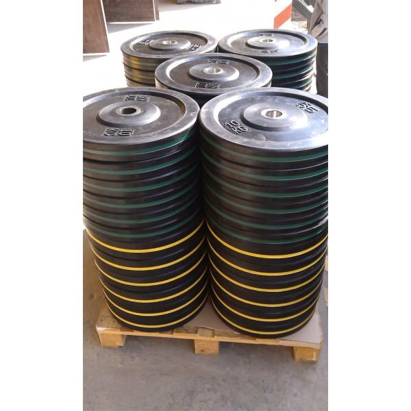 Бамперные диски 15 кг
