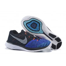 Кроссовки Nike Lunarlon 3 Black/Blue